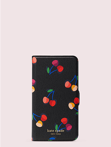 spencer cherries iphone 11 pro max magnetic wrap folio case, , rr_productgrid
