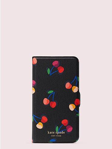 Magnetische Spencer Umschlaghülle für iPhone 11 Pro Max mit Kirschmuster, , rr_productgrid