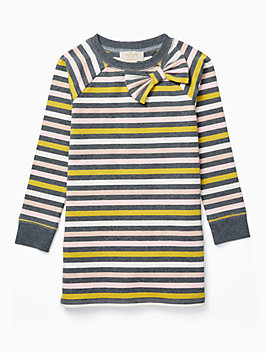 toddlers' metallic stripe dress, multi, medium