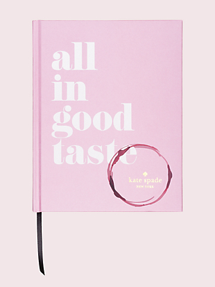 all in good taste book by kate spade new york non-hover view