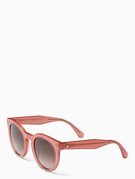 alexus sunglasses, peach, medium