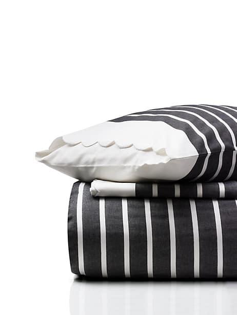 harbour stripe comforter set by kate spade new york