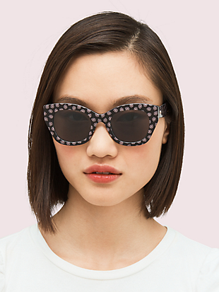 jalena polarized sunglasses by kate spade new york hover view