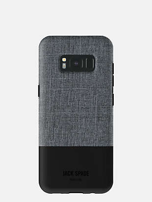 samsung galaxy s8 plus tech oxford color block case by kate spade new york hover view