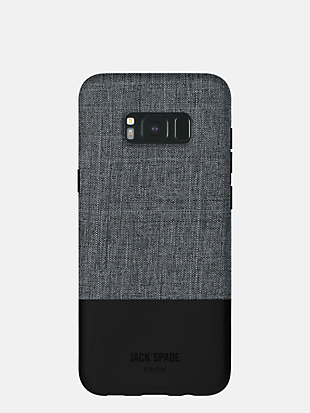 samsung galaxy s8 tech oxford color block case by kate spade new york hover view