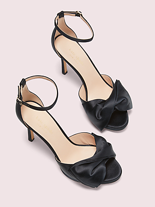 bridal bow sandals by kate spade new york hover view