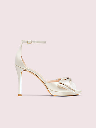 bridal bow sandals by kate spade new york non-hover view