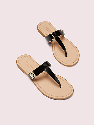 cyprus thong flip flops by kate spade new york hover view
