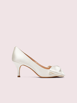 crawford peep-toe pumps by kate spade new york non-hover view