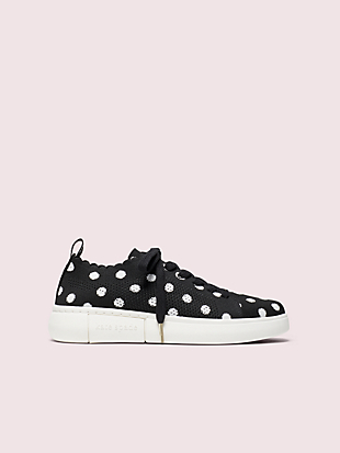 lift knit geo sneakers by kate spade new york non-hover view