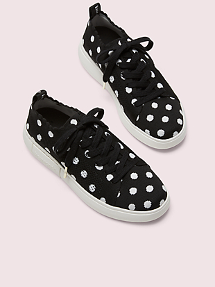 lift knit geo sneakers by kate spade new york hover view