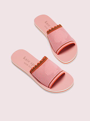 festival slide sandals by kate spade new york hover view