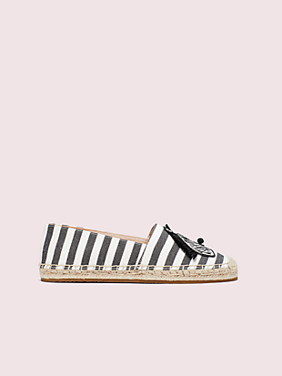 garden zebra espadrilles by kate spade new york hover view