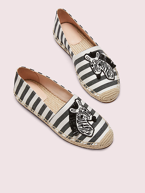 garden zebra espadrilles by kate spade new york