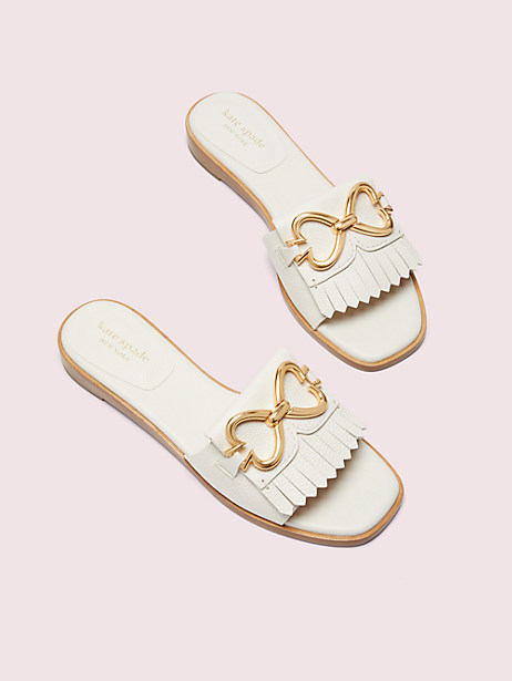 positano spade chain slide sandals by kate spade new york