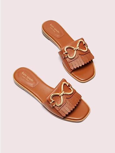 positano spade chain slide sandals, , rr_productgrid