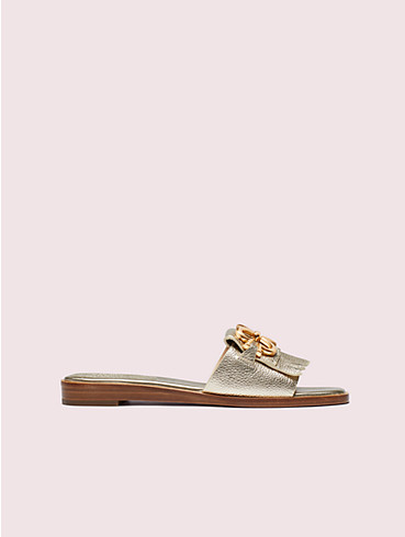 positano spade chain slide sandals, , rr_productgrid