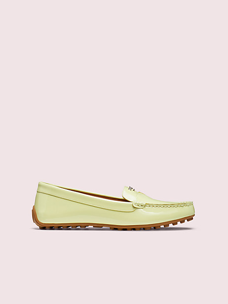 deck loafers, lemon sorbet, large by kate spade new york