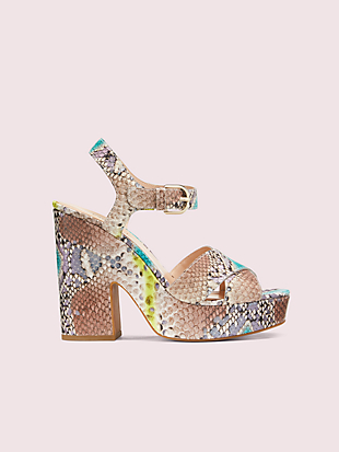 grace platform sandals by kate spade new york non-hover view