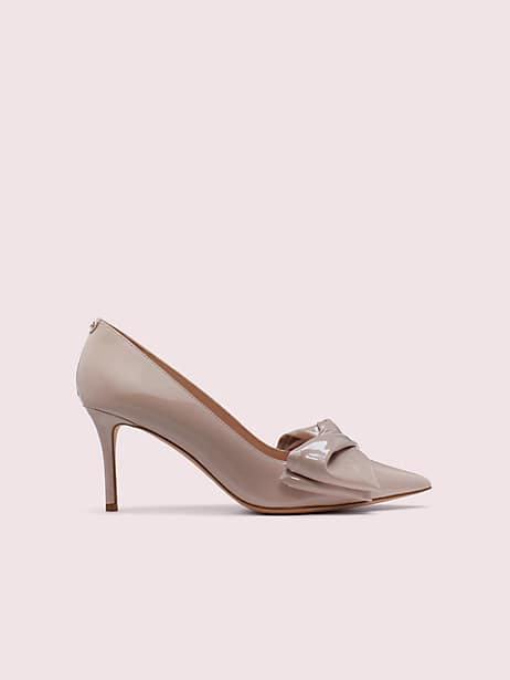 strudel pumps, pale vellum, large by kate spade new york