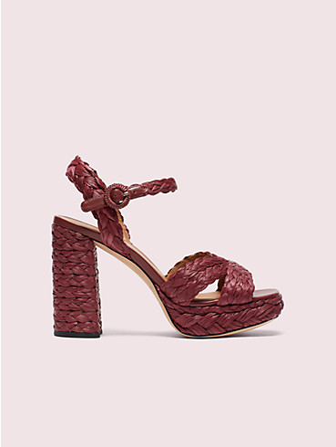 disco raffia platform sandals, , rr_productgrid