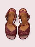 Disco Sandalen mit Plateausohle aus Bast, , s7productThumbnail