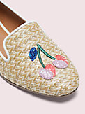 lounge cherries raffia loafers, , s7productThumbnail