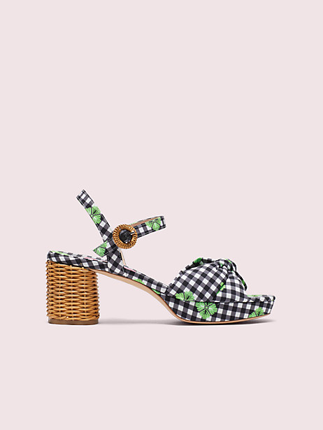 hayden knot platform sandals by kate spade new york