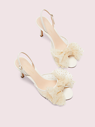 bridal sparkle heels  by kate spade new york hover view
