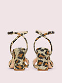 odele leopard raffia sandals, , s7productThumbnail