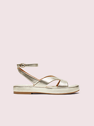 marshmallow flatform sandals by kate spade new york non-hover view