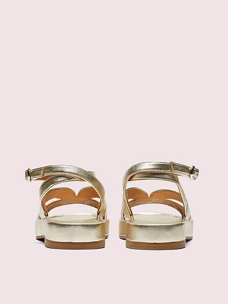 Marshmallow flatform sandals | Kate Spade New York