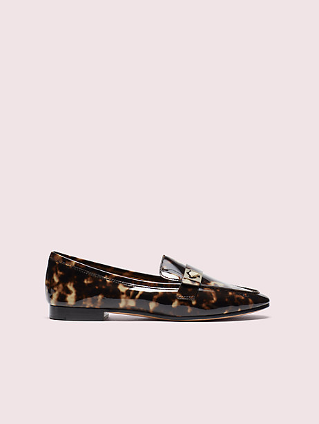 catroux tortoiseshell loafers by kate spade new york
