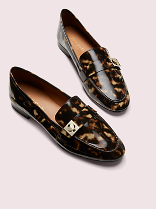 catroux tortoiseshell loafers by kate spade new york hover view
