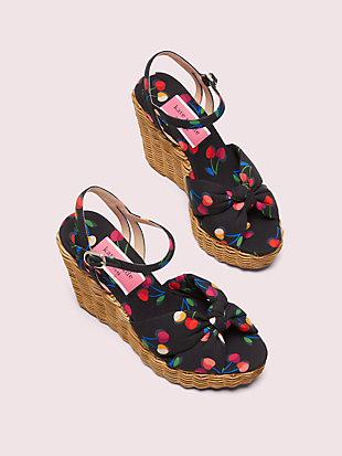 anita wedge sandals by kate spade new york hover view