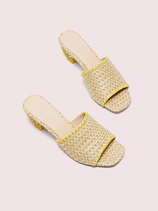 citrus slide sandals by kate spade new york hover view