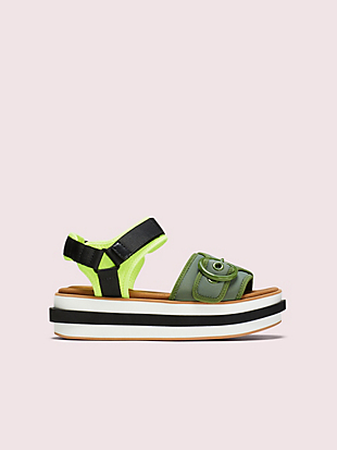 cozumel flatform sandals by kate spade new york non-hover view