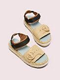 acapulco raffia flatform sandals, , s7productThumbnail