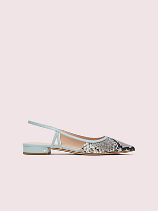 sunday slingback flats by kate spade new york hover view