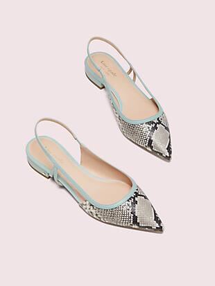 sunday slingback flats by kate spade new york non-hover view