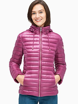 packable down jacket by kate spade new york non-hover view