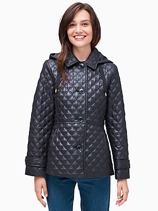 quilted jacket by kate spade new york non-hover view