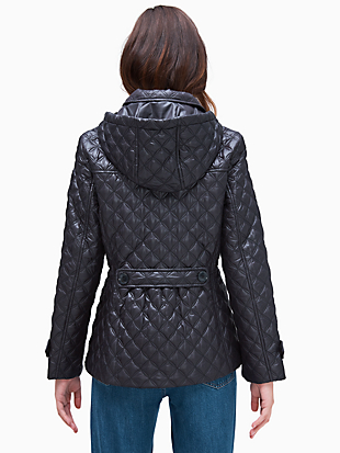 quilted jacket by kate spade new york hover view