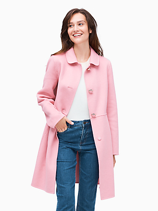 wool jacket by kate spade new york hover view