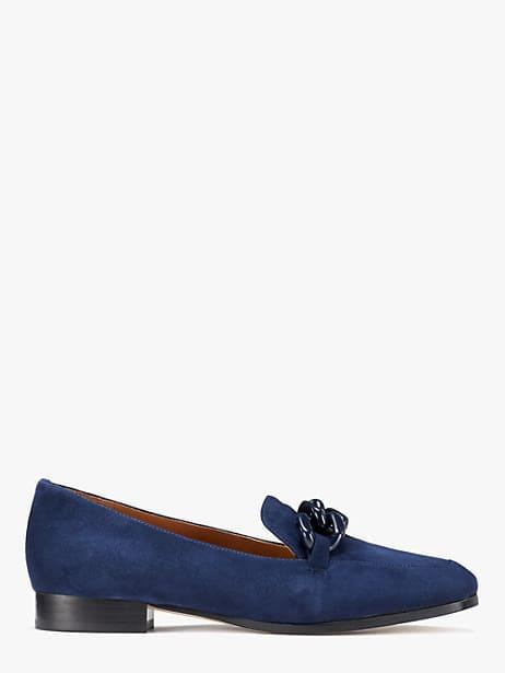 rowan loafers, blazer blue, large by kate spade new york
