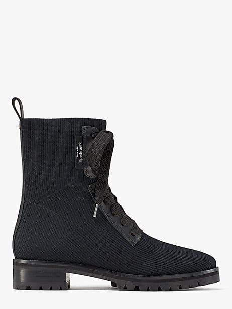 merigue boots, black, large by kate spade new york