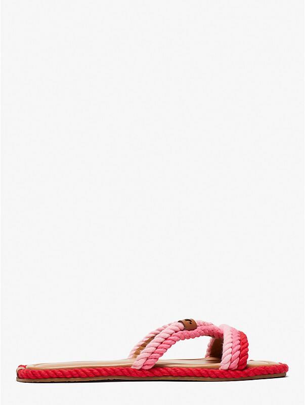 captain's cord slide sandals, , rr_large