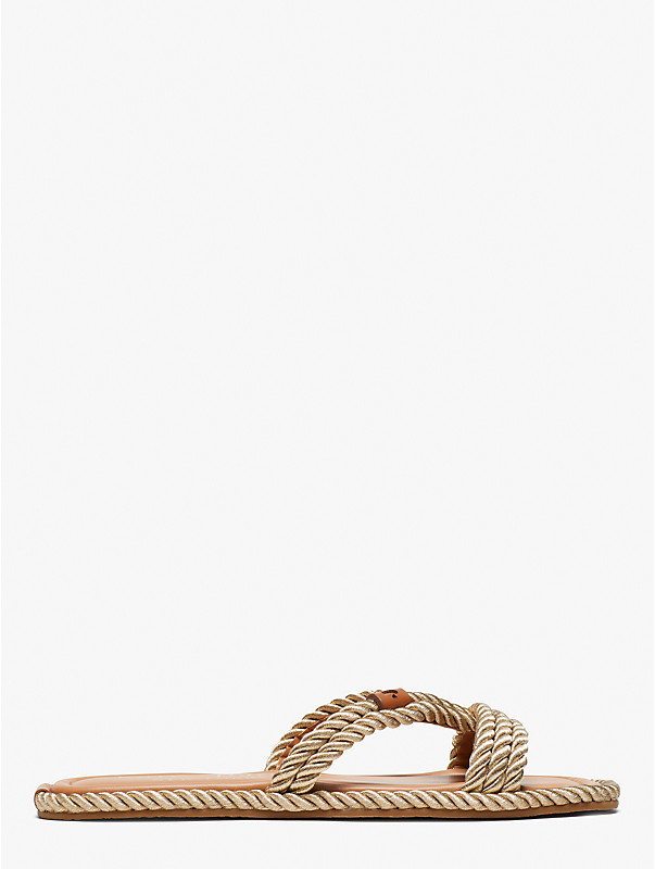 captain's cord slide sandals, , rr_large