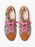 keswick spade flower jacquard sneakers, , s7productThumbnail