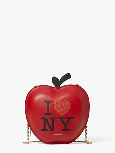 i heart ny x kate spade new york big apple crossbody, , rr_productgrid